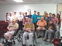 Nuestros Jóvenes en la Casa del Veterano
